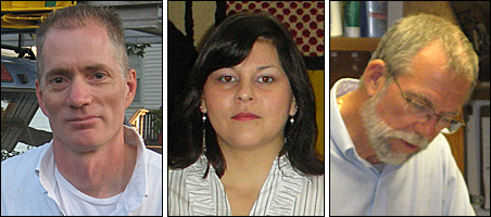 Robert Sutherland, Veronica Walther and Brad Benzick
