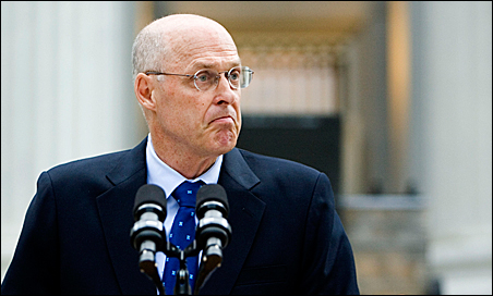 Secretary of the Treasury Henry Paulson on Sunday announces steps the Treasury and the Fed are prepared to take to help Fannie Mae and Freddie Mac.