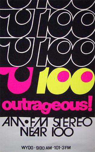 U100 poster
