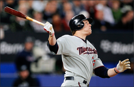 It was a big day for Minnesota Twins Justin Morneau, shown here in a file photo, and for his teammates.