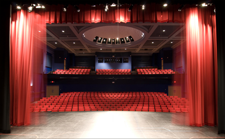 The new Steppingstone Theatre stage in St. Paul is ready for play.