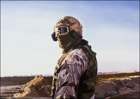 """Alien, 2008, Oil on canvas, 52 x 73"""""""
