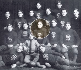 I.A. O'Shaughnessy, longtime St. Thomas benefactor, was captain of its 1905 football team.