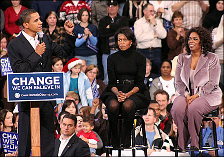 Iowa Obama rally