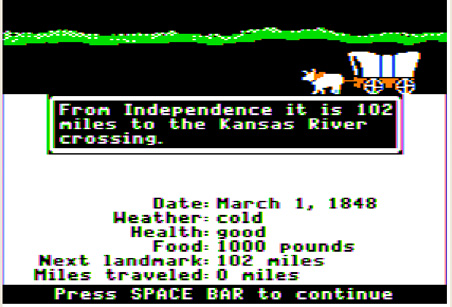 """Why do 35-year-olds in my graduate classes light up and """"get it"""" when I use stories from Oregon Trail to teach leadership and change management?"""