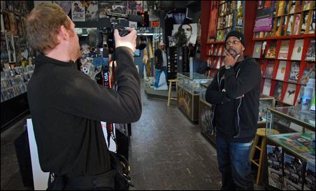 Nick Clausen interviews Tim Wilson, owner of Urban Lights Music.