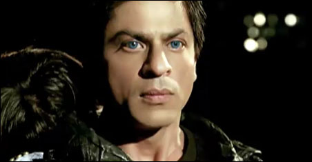 "Shahrukh Khan in ""Ra. One"""
