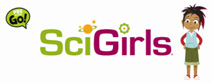 """Izzie, an animated """"SciGirl,"""" appears in every segment of the new PBS series."""