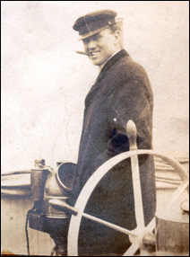 Mataafa Captain Dick Humble survived the storm but lost six crew members when the steamer was stranded off the Duluth pier.