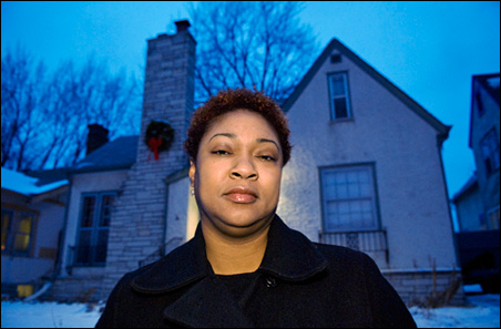 """Troubled homeowner Edwina Bruce: """"It is hard to get out of a situation like this with no help."""""""