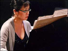 Pianist Noriko Kawai playing segments from the Book of Elements.