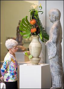"""A scene from last year's """"Art in Bloom"""" festival."""