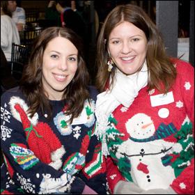 Stephanie Ramsey and Megan Wolfe