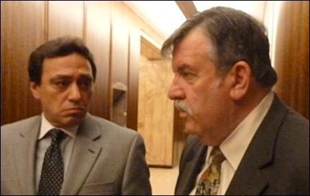 Commissioners Rafael Ortega and Tony Bennett  are spearheading Ramsey County stadium efforts.