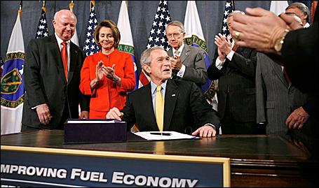 President Bush signs legislation