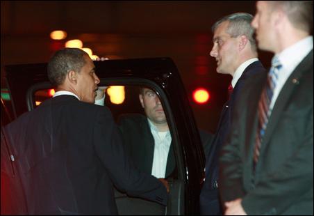 President Senator Barack Obama, Denis McDonough