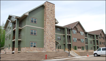 The Twin Cities area is falling behind in affordable housing units like Hoffman Place, a 60-unit apartment building in White Bear Lake.