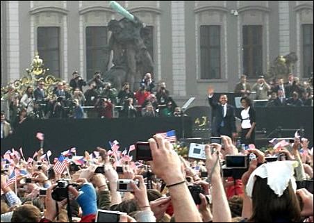 President Obama in Prague