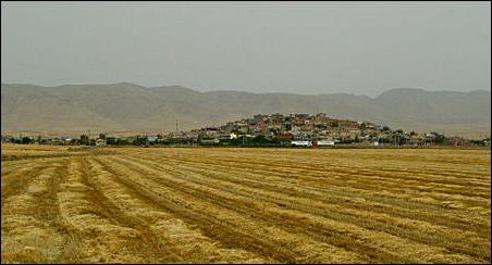 """A """"tell"""" in southeastern Turkey."""