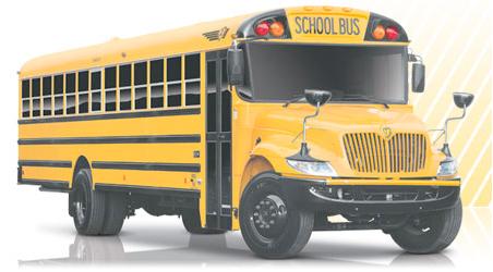Hybrid school bus