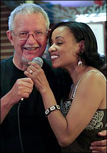 Denny Malmberg and Charmin Michelle.