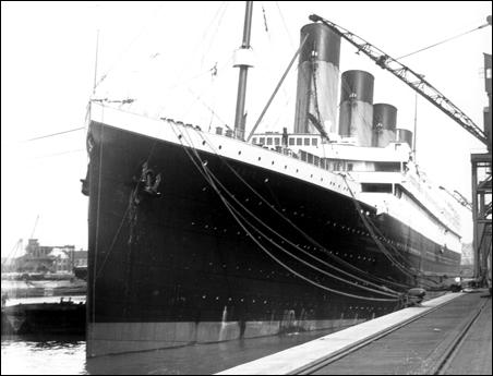 The Titanic set sail from Southampton on April 10, 1912.