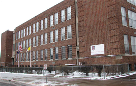 With its finances stabilized, St. Agnes School remains an anchor in St. Paul's Frogtown neighborhood.