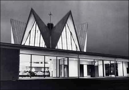St. Peter's Lutheran Church in Edina, 1957