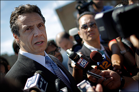 """""""Attorney General Andrew Cuomo might be a victim of his own excess,"""" says Maurice Carroll, director of the Quinnipiac University Polling Institute."""