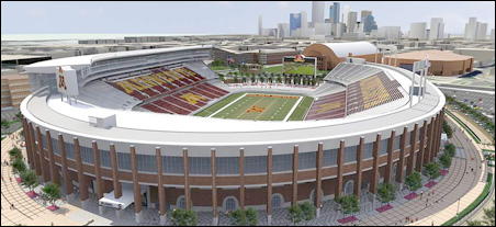 New TCF Bank Stadium ready to rouse — and wow — Gopher