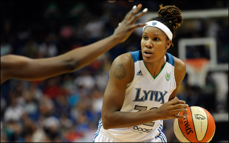Rebekkah Brunson had been leading the league in rebounding and field goal percentage until falling off recently.