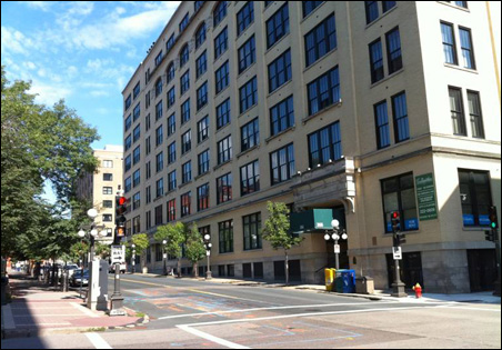 """""""Lowertown is one of the great destinations in the Twin Cities, and people are starting to recognize that,"""" Mayor Chris Coleman said Tuesday. """"It just needs a couple of sparks."""""""
