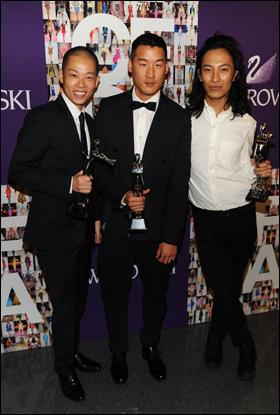 Jason Wu, Richard Chai, Alexander Wang
