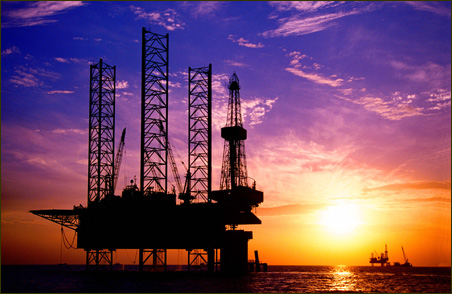 If Congress follows Bush, oil rigs like this one could proliferate off U.S. coasts.