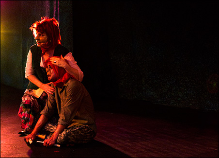 """""""Mother Courage and Her Children"""" at The Lab"""
