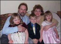 From left to right: Colleen, Patrick, Kevin, Monica and Rachel Duffy