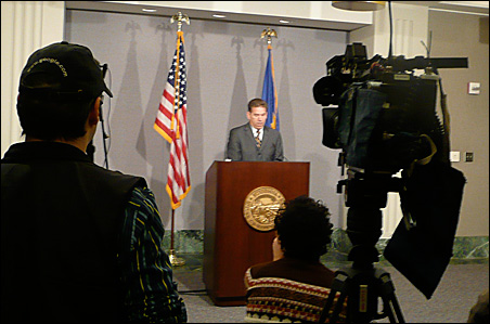 Secretary of State Mark Ritchie