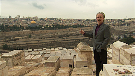 """Bill Maher goes on the offensive in """"Religulous."""""""
