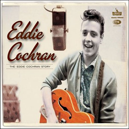 Eddie Cochran and his legendary guitar