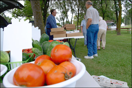 A farmers market is one of many innovations bringing new life to Hoffman.