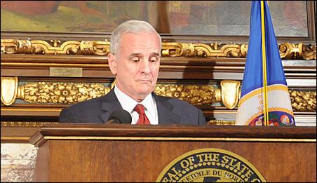"Gov. Mark Dayton: ""I'm in negotiating mode."""