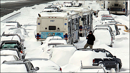Las Cruces, N.M., ain't Chicago, where more than 20 inches of snow stranded vehicles on Lake Shore Drive. Still, for southern New Mexico, the storm was serious.