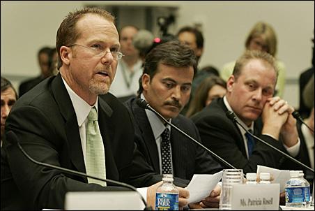 Mark McGwire, Rafael Palmeiro, Curt Schilling