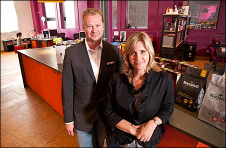 Stefan Hartung and Mary Kemp kick-started their agency in 2001.