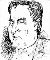 Sketch of Tom Petters