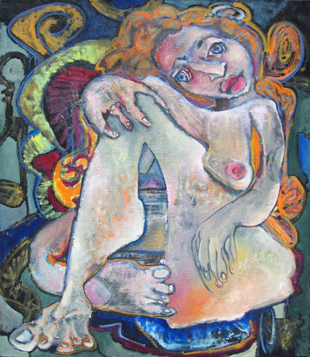 Rachel Orman explores Picasso-like imagery from a female perspective.