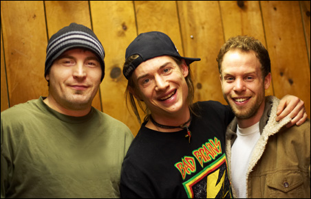 Left to right: Chuck Torgerson, Jon Wayne and Christopher Hicks
