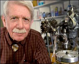 Physics professor Bob Pepin