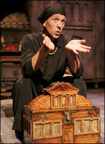 """Bradley Greenwald in """"I Am My Own Wife"""" at the Jungle Theater"""