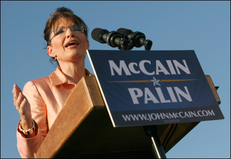 Foreign correspondents hope to learn more about Palin's views when she speaks to GOP delegates tonight.